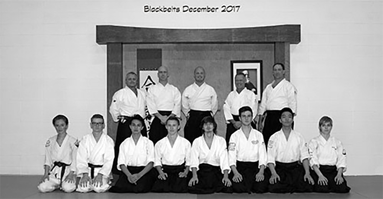 Bigrock Aikikai black belts 2017